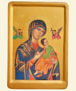 MIRACULOUS ICON THE VIRGIN OF THE PASSION IN ROME