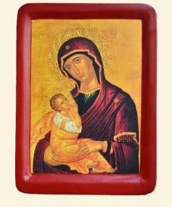 """Mother of God -Nursing the Child"""