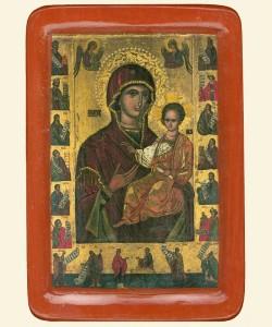 Белзька Богородиця Одигiтрiї (XVст.)